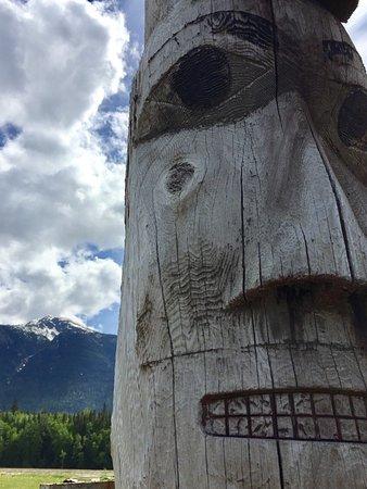 Kitwanga, Canada: Gitwangak Totems