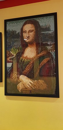 Jelly Belly Factory Tour: Mona Lisa