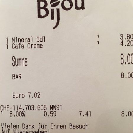 Hochdorf, Switzerland: Cafe Bijou