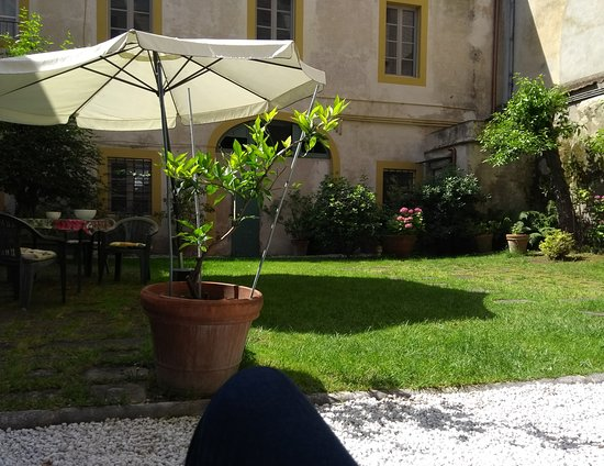 Relais Sassetti Bed and Breakfast: Courtyard