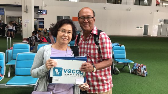 Vecay Phuket Taxi and Tours: Our beloved customer