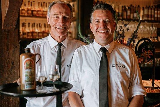 Proeflokaal A. van Wees: Nils & Peter, our senior bartenders