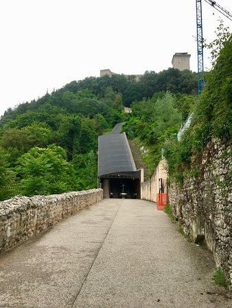 Percorso Meccanizzato Ponzianina-Rocca: via accesso