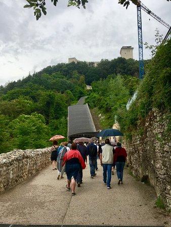 Percorso Meccanizzato Ponzianina-Rocca: arrivo gruppi