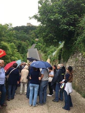 Percorso Meccanizzato Ponzianina-Rocca: partenza