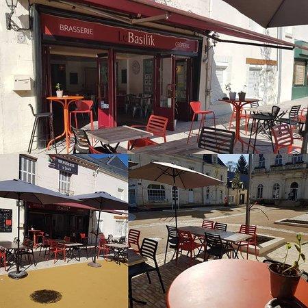 Montbazon, France: Terrasse