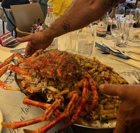 Il Kartell Restaurant: Pasta Crab