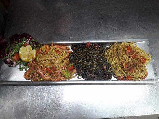 Il Kartell Restaurant: 3 types of Pasta