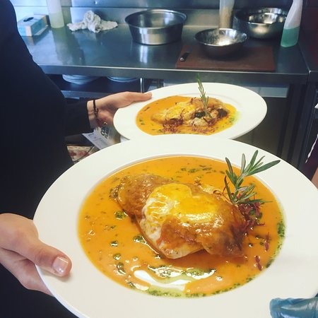 Top dishes served at the lodge
