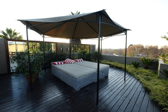 The Residence Boutique Hotel: Outdoor area of The Penthouse