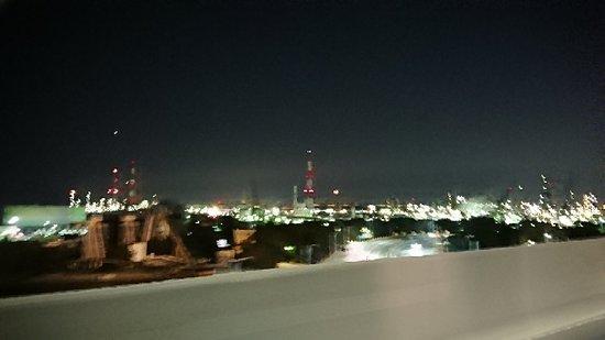 Sakai, Giappone: 堺泉北臨海工業地帯の工場夜景