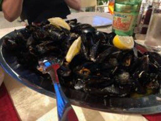 Milna, Croacia: Mussels