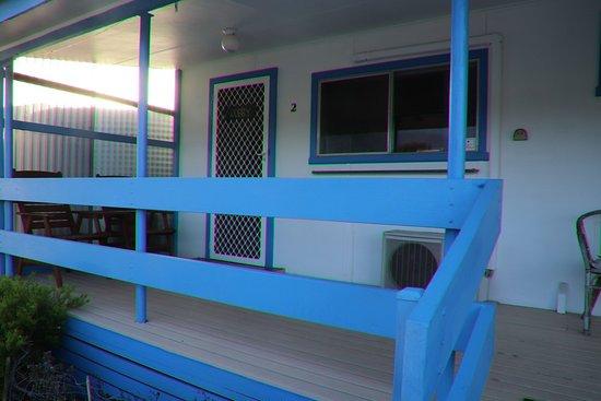 Baudin Beach, Australia: The veranda
