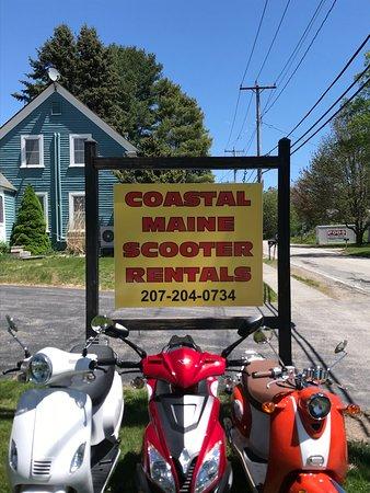Coastal Maine Scooter Rentals