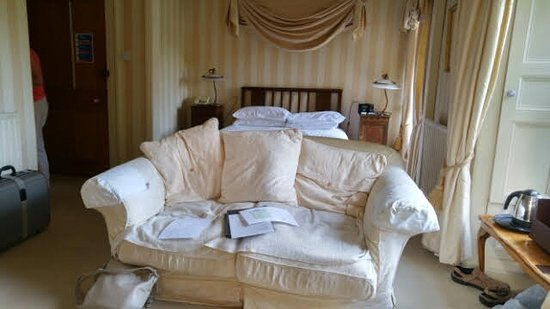Lovelady Shield Country House Hotel: Sorry its untidy
