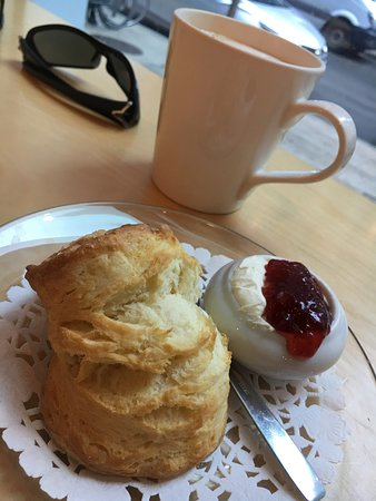 The Scone Witch: Sensational scones with jam and cream