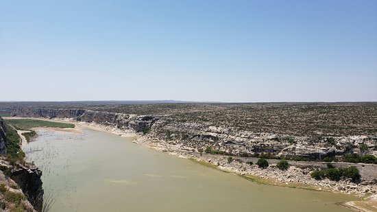 Langtry, TX: View from the Overview