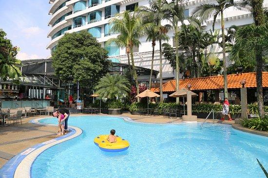 Best club lounge best pool in urban hotels I experienced.