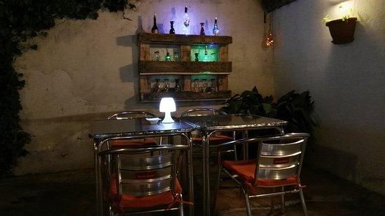 La Culla Bar: Cenas a la fresca