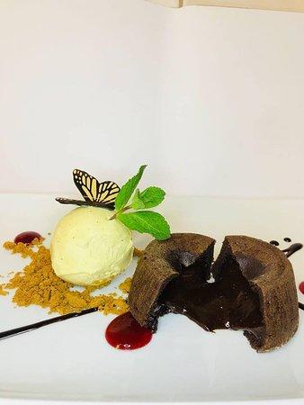 Portalban, Sveits: Moelle au chocolat