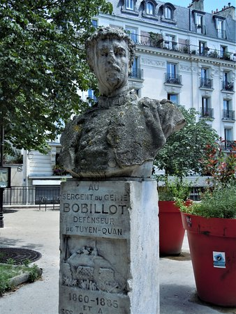 Buste Sergent Jules Bobillot