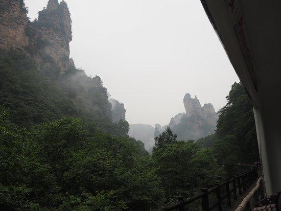 Fengkai County, Kina: トロッコ列車で