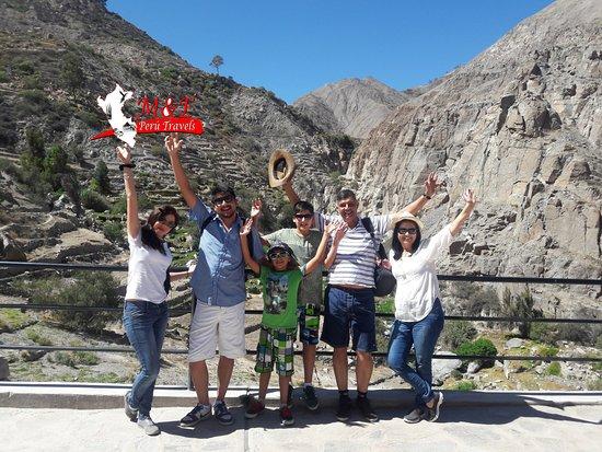 Tacna Region, Peru: FULL DAY ILABAYA  EN TACNA, parte de la caminata hacia las caída de agua de Panina.