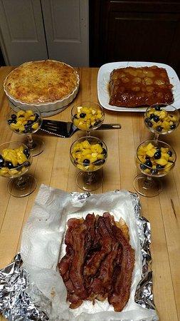 Willow Street, PA: Breakfast Sample