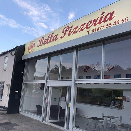 Bella Pizzeria Picture Of Bella Pizzeria Castleford