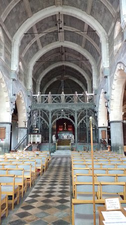 Shaldon, UK: Interior of the church