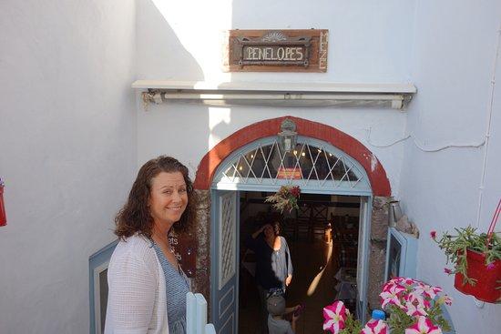 Penelope's: exterior