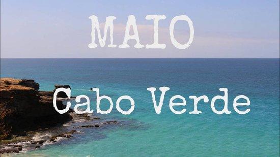 Maio,ile aux plages sable blanc, mer turquoise, température27°C
