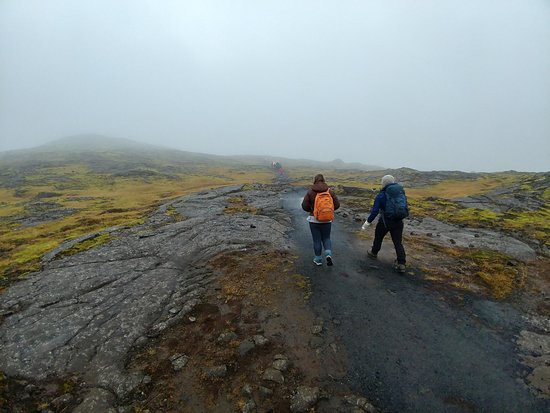 Inside The Volcano: Prepare your self for a decent walk