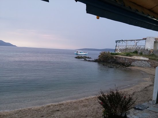 Nea Styra, Grecja: Καλό φαγητό και ωραία θέα .