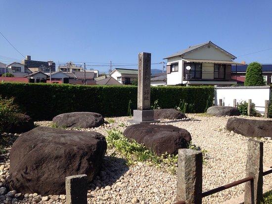 Izu Kokubun-ji Temple Tower Monument