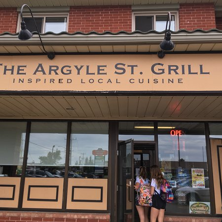 The Argyle St. Grill: The grill.