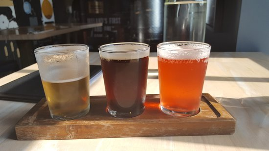 Walled City Brewery: A flight of delicious beer