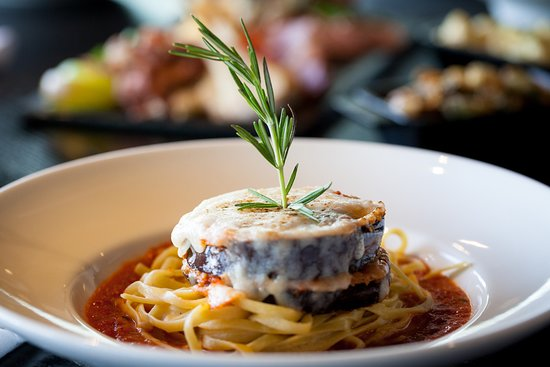 River: A Waterfront Restaurant & Bar : River's Eggplant Parm