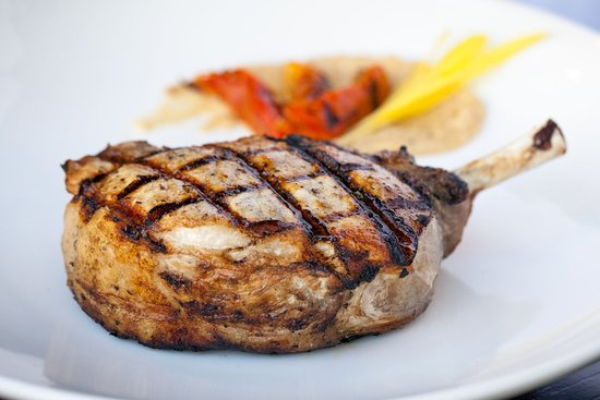 River: A Waterfront Restaurant & Bar : River's Pork Chop