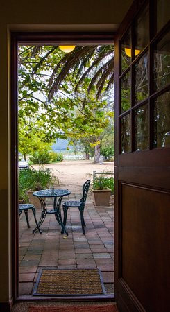 Balcony - Picture of Rosenview Guest House, Stellenbosch - Tripadvisor