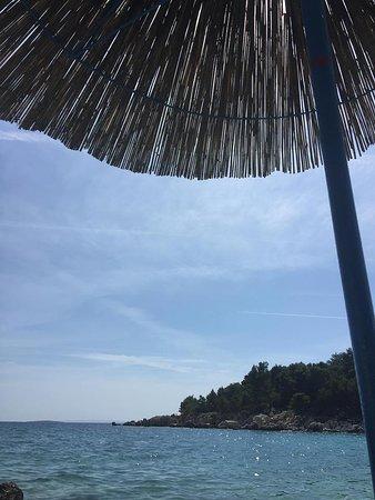 Palit, Croácia: Beachview1