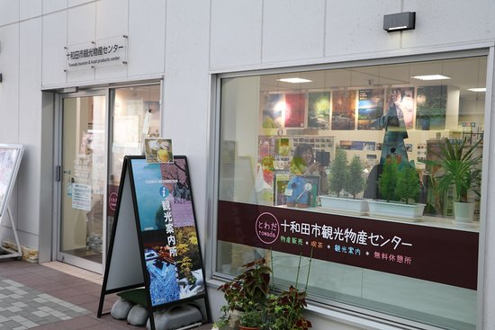 Towada, Japón: やわらかい感じの物産センター