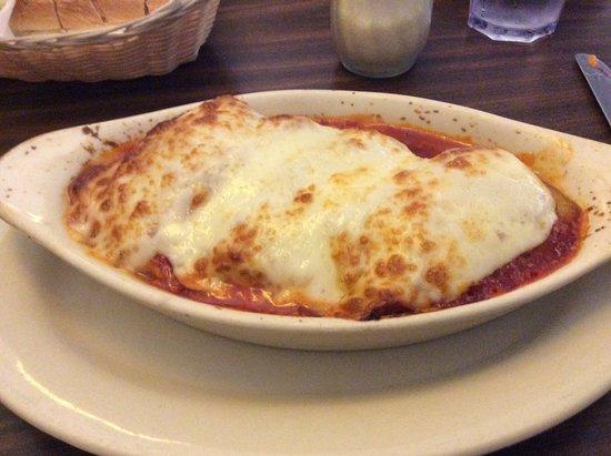 Tony's Pizza & Italian Restaurant: Eggplant florentine