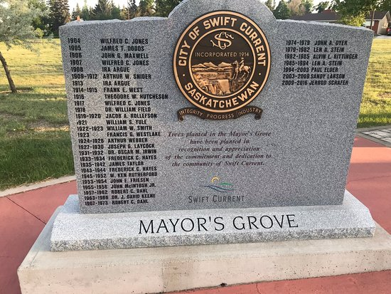 A list of Swift Current Mayors