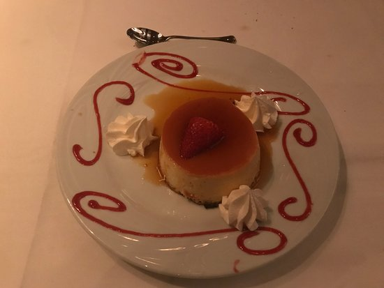 Chama Gaucha Brazilian Steakhouse: Flan (Mexican Custard) very good