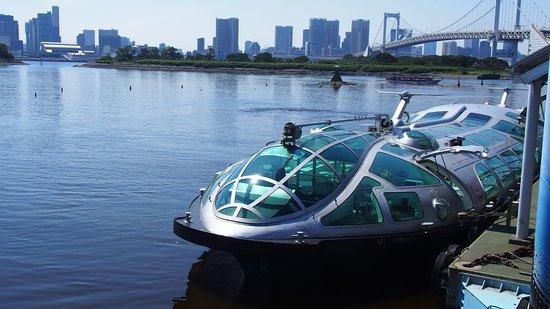 Tokyo Cruise (Sumida River): 아사쿠사에서 출발전 수상버스