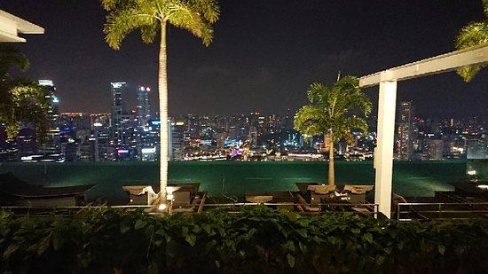Circuito F1 Singapur : Vista del hotel desde el circuito de singapur de f picture of