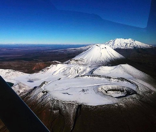 Mountain Air Scenic Flights Day Tour: North Crater