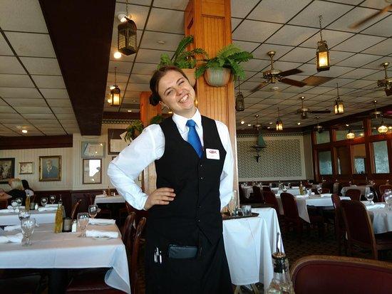 Gaido's: Our server Anna from Ukraine