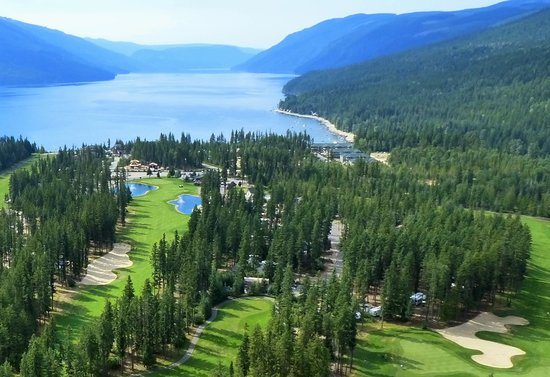 Enderby, Канада: Mabel Lake Golf Course, Mabel Lake, BC